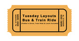 Tuesday June 2: Layout Tour Bus, Train Ride, Lunch