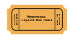 3 Wednesday: Bus Tour-Layouts & Lunch
