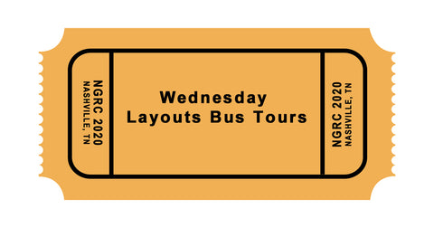Wednesday June 3: Layout Tour Bus, Lunch