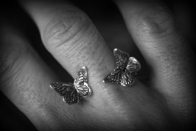 Butterfly Double - Schmetterling Ring