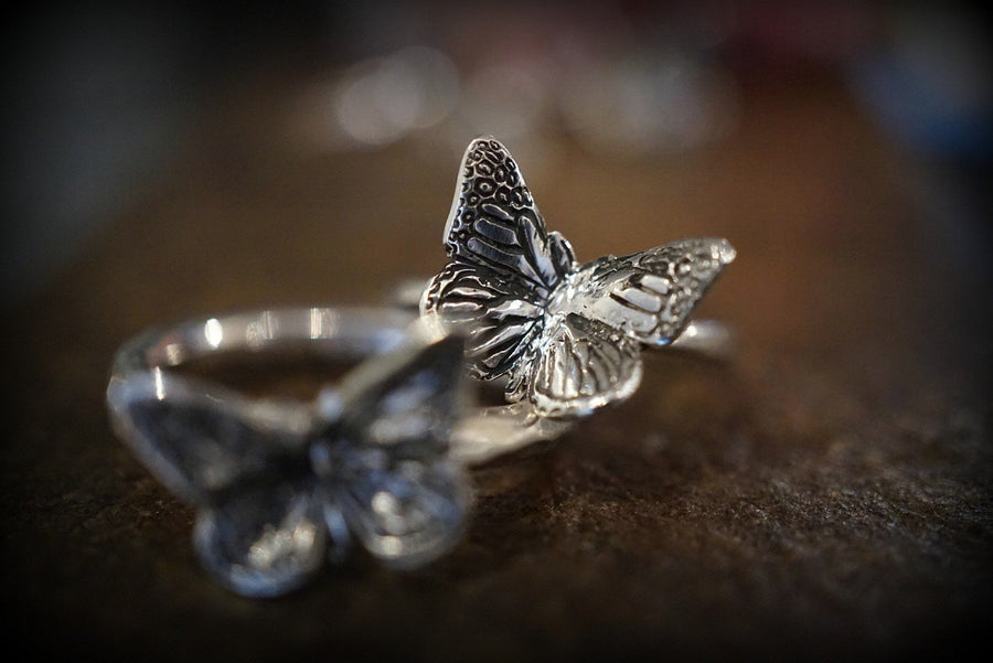 Butterfly Schmetterling Ring