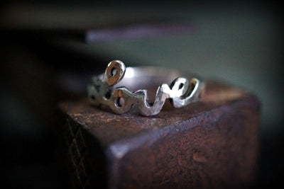 Love Ring - Silberring & Goldring - CAPULET Jewelry