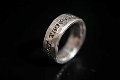 Ring mit Gravur - Goldring & Silberring - Quote Medium