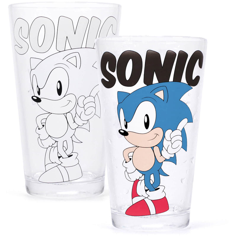 Classic Sonic Colour Change Glass