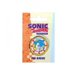 Classic Sonic Enamel Pin Badge