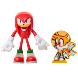 "Official Knuckles 4"" Bendable Action Figure with Tails"