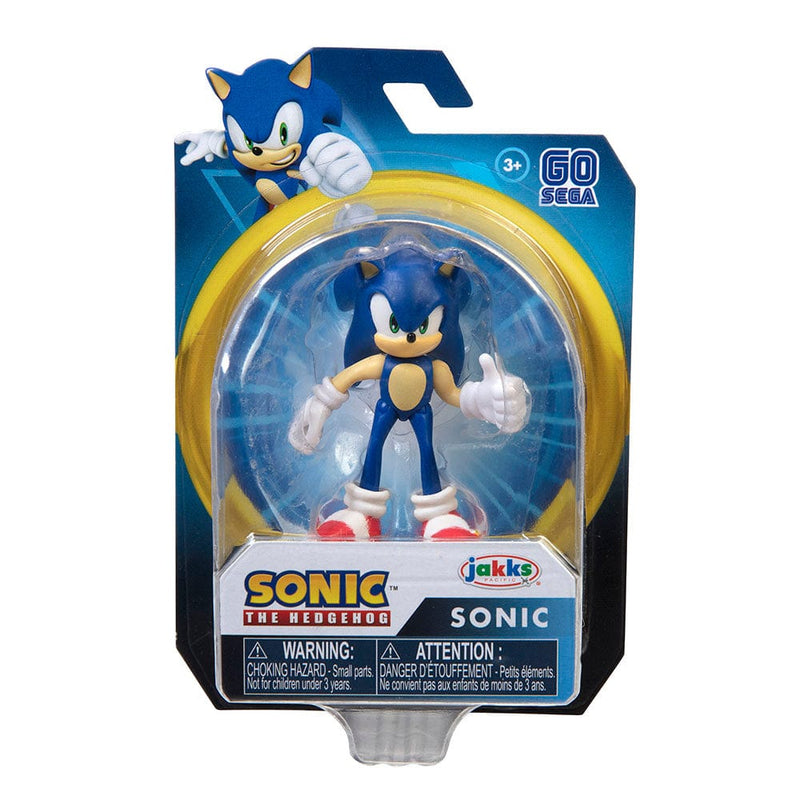 "Official Sonic The Hedgehog Wave 2 Modern Sonic 6cm (2.5"") Figure / Statue"