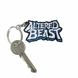 Official Altered Beast Logo Keyring