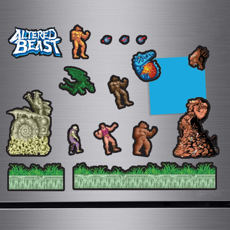 Official Altered Beast Create-a-scene Magnet Set
