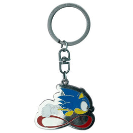 Official Classic Sonic the Hedgehog 'Sonic Speed' Keyring