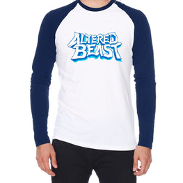 Official Altered Beast Logo Raglan