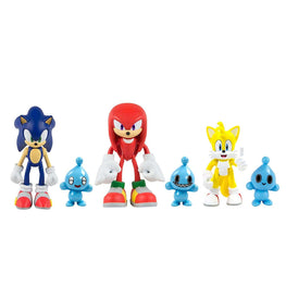 Official Sonic the Hedgehog Collector Figure Set with Chao