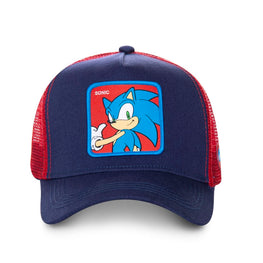 Official Blue Sonic Trucker Snapback