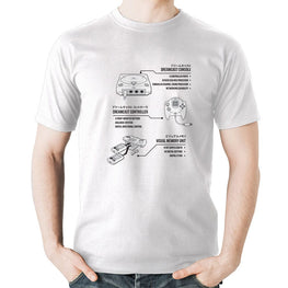Official Dreamcast Technical Spec T-Shirt