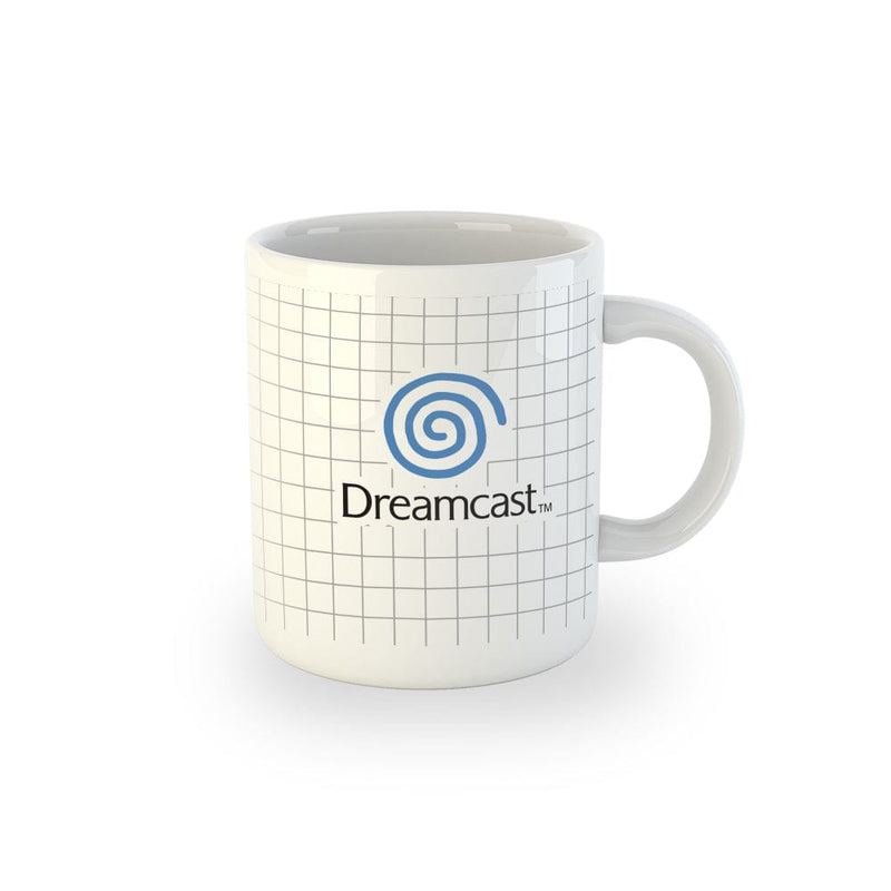Official Dreamcast Logo and Grid Decal Mug