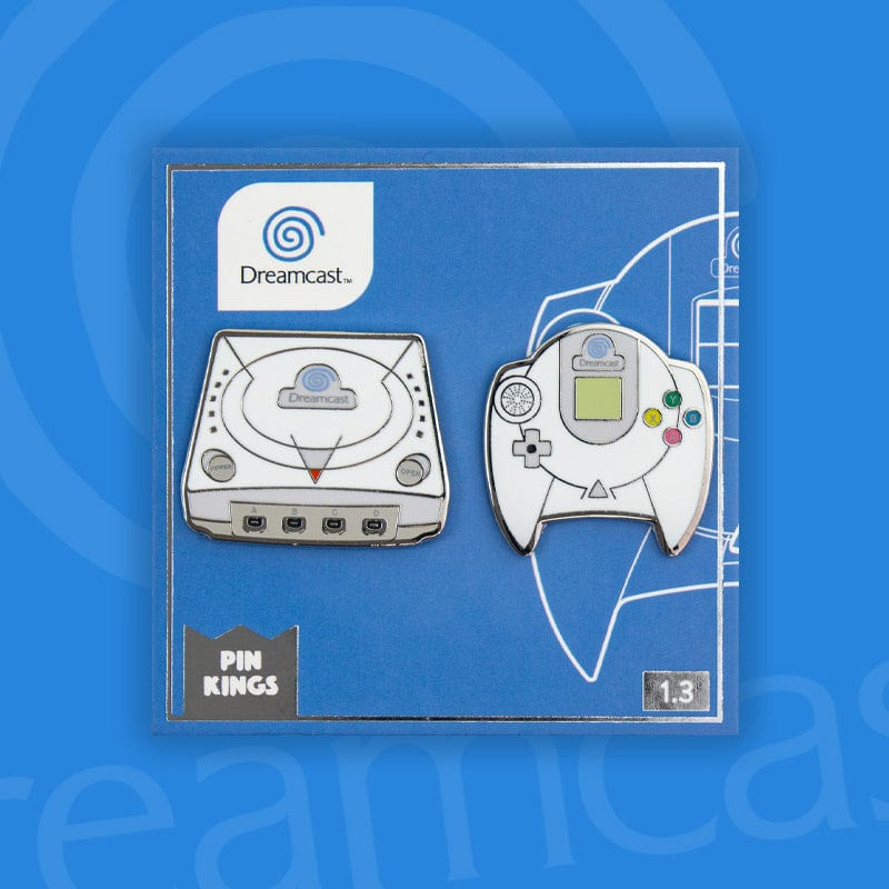 Pin Kings SEGA Console Enamel Pin Badge Set 1.3 – Dreamcast