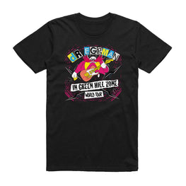 Official Classic Sonic 'Dr. Eggman in Green Hill Zone World Tour' T-Shirt