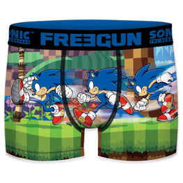 Official Modern Sonic 'Running' Freegun Boxers - Adult