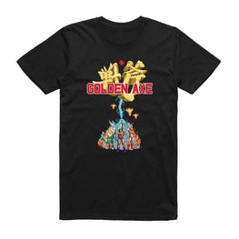 Official Golden Axe Logo Print T-Shirt