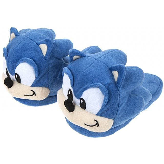 Official Classic Sonic the Hedgehog Plush Slippers