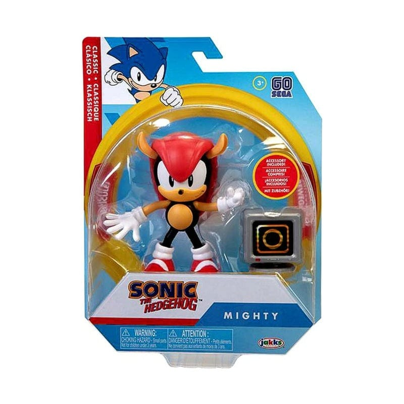 "Official Sonic The Hedgehog Wave 3 Classic Mighty with Monitor 10cm (4"") Figure"