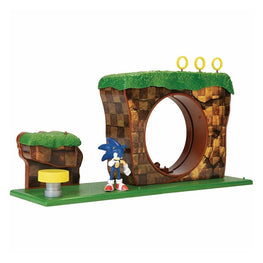 Official Sonic The Hedgehog Green Hill Zone Playset