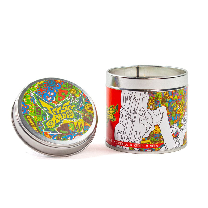 LIMITED EDITION Official Jet Set Radio Tin Candle