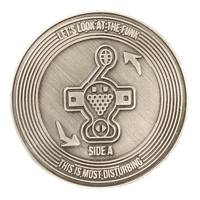 Official Jet Set Radio Collectible coin