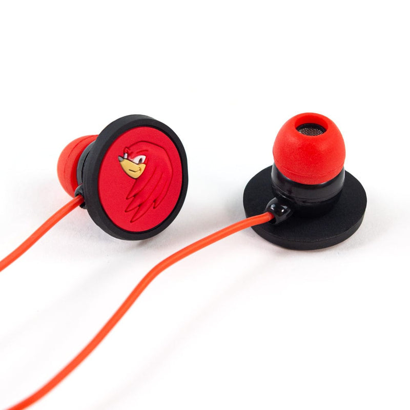 Official Sonic the Hedgehog Knuckles Earphones