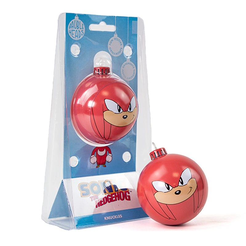 Bauble Heads Sonic The Hedgehog 'Knuckles' Christmas Decoration / Ornament