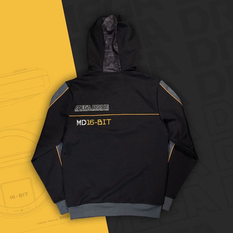 Official Mega Drive 'MD16-Bit' Black Hoodie (Unisex)