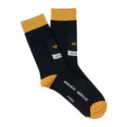 Official Mega Drive Gold Socks