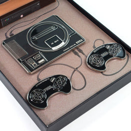 Official Mega Drive Collectible Pin Badge Set