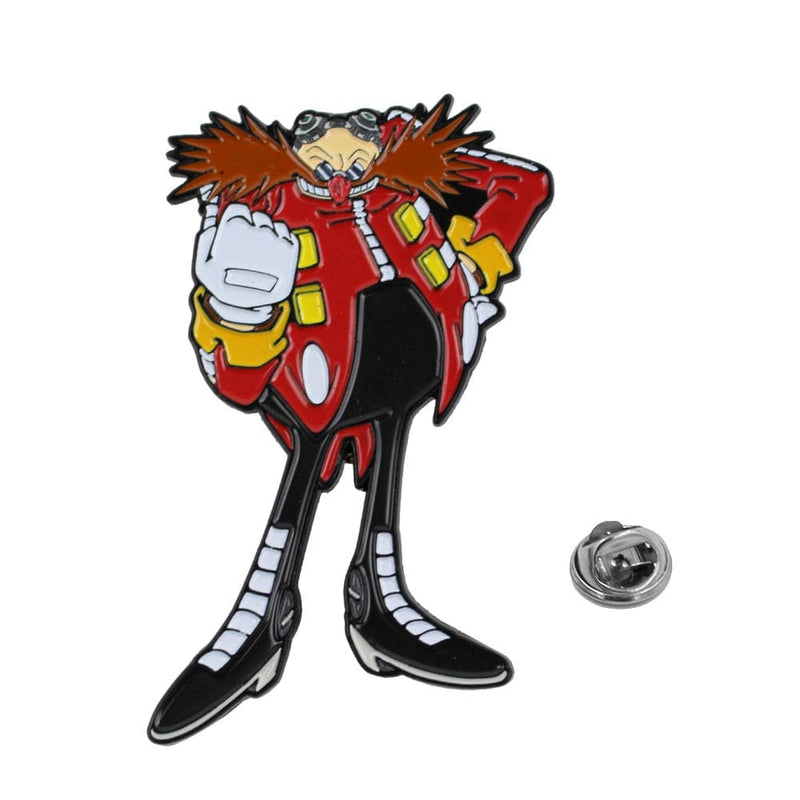 Official Modern Dr. Eggman Collectible Pin Badge