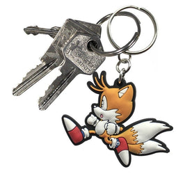 Classic Sonic Tails Running Keyring