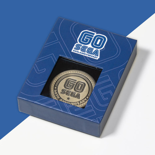 Official SEGA 60th Anniversary Collectable Coin