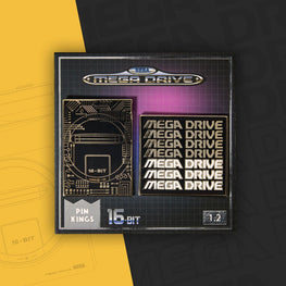 Pin Kings SEGA Mega Drive Enamel Pin Badge Set 1.2 – Retro