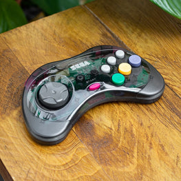 Retro-Bit SEGA Saturn Wireless 2.4G Grey Controller