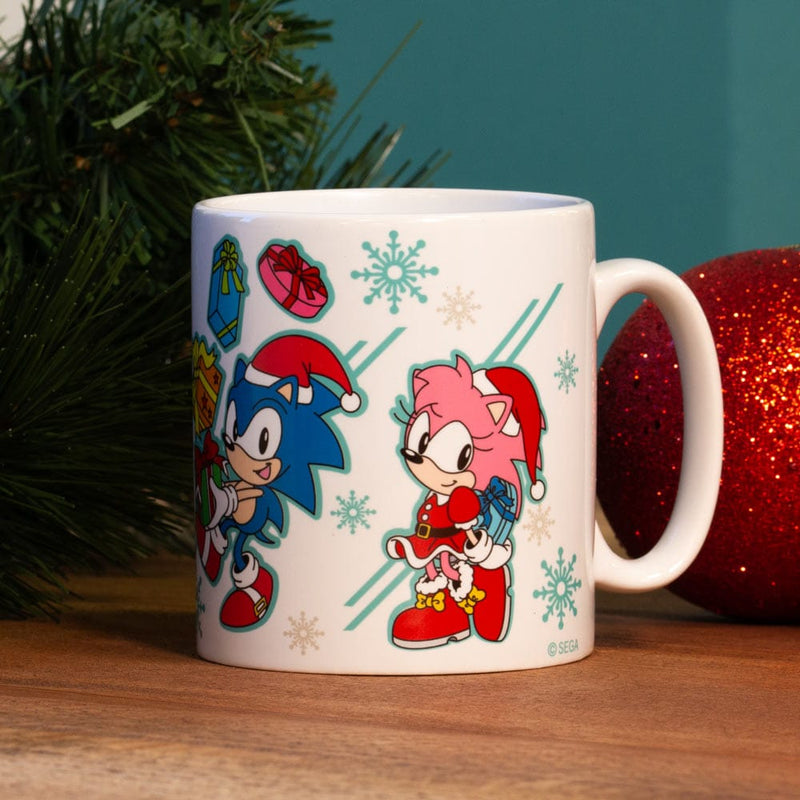 Official Classic Sonic the Hedgehog Christmas Mug