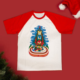 Official Modern Sonic the Hedgehog Christmas T-shirt
