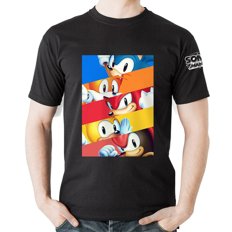 Official Sonic Mania  - Character Eyes T-Shirt