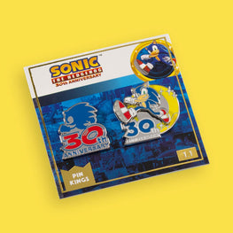 Pin Kings Sonic the Hedgehog 30th Anniversary Enamel Pin Badge Set 1.1