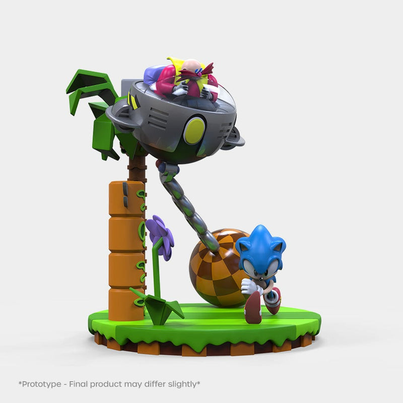 Official Sonic The Hedgehog 30th Anniversary Statue