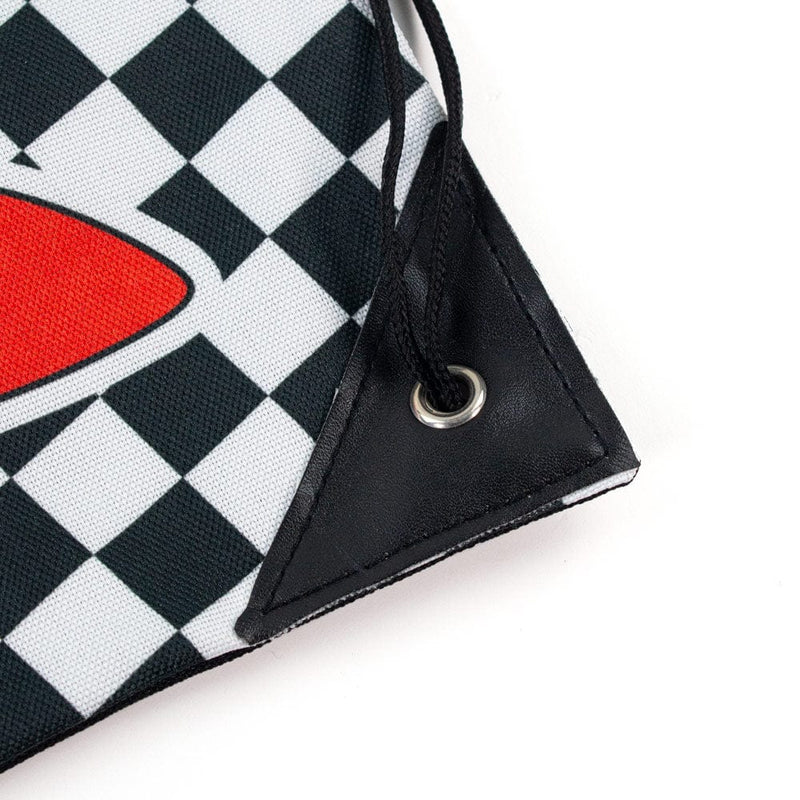 Official Sonic the Hedgehog Chequered Drawstring Bag
