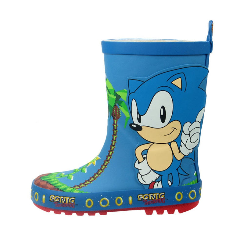 Official Sonic the Hedgehog Melba Kids Wellington Boots