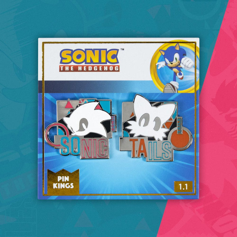 Pin Kings Modern Sonic the Hedgehog Remix Pin Badge Set 1.1