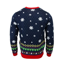 Official Sonic the Hedgehog Exclusive Snowboard Christmas Jumper