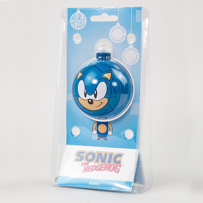 Bauble Heads Sonic The Hedgehog 'Sonic' Christmas Decoration / Ornament