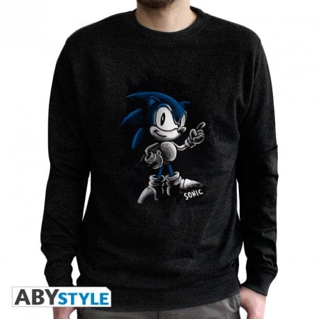 Official Classic Sonic Sketch 'Vintage' Crewneck (2XL)