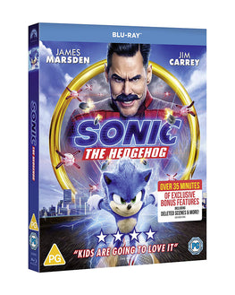Official Sonic The Hedgehog Movie Blu-ray